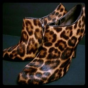 Shoes - ISOLA LEOPARD PRINT BOOTIES